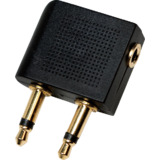 LogiLink flugzeug Audio-Adapter, 2 x 3,5 mm Klinkenstecker