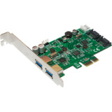 LogiLink usb 3.0 + serial ATA pci-express Karte, 2 + 2 Port