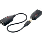 LogiLink usb 2.0 Extender-Set, twisted Pair, schwarz