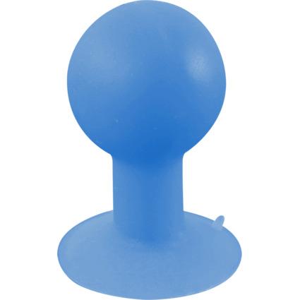 LogiLink Smartphone-Ständer iStand mit Saugnapf, blau