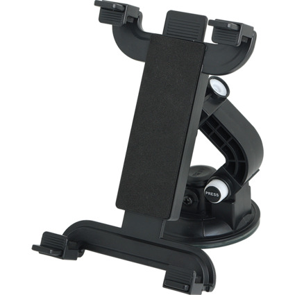 LogiLink Smartphone-/Tablet-PC-KFZ-Halter, schwarz