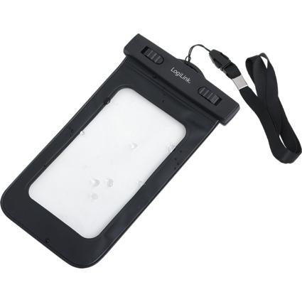 LogiLink Smartphone-Schutzhülle, schwarz