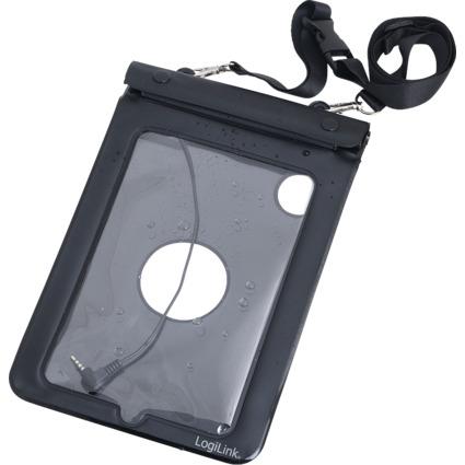 """LogiLink Strandtasche für 17,78 cm (7"""") Tablet PC, schwarz"""