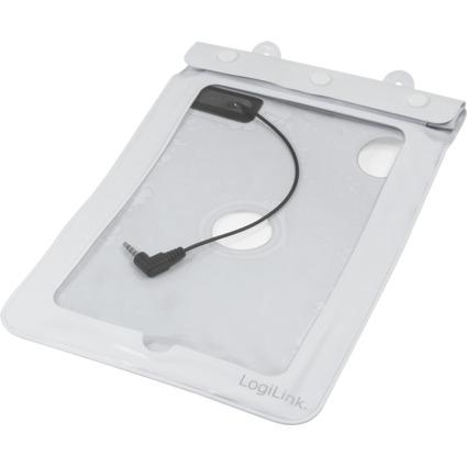 """LogiLink Strandtasche für 17,78 cm (7"""") Tablet PC, weiß"""