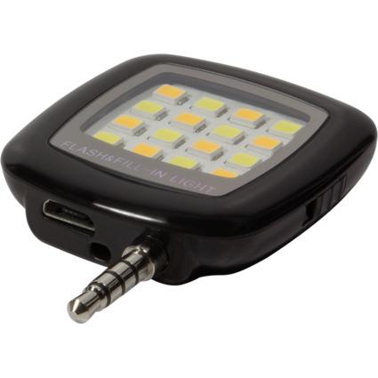 LogiLink LED-Blitzlicht, für Smartphones
