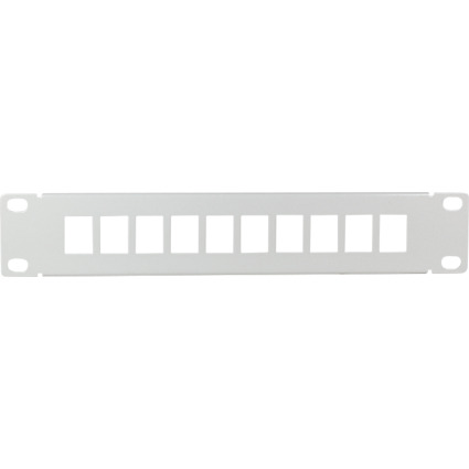 "LogiLink 10"" Keystone Patch Panel, lichtgrau"