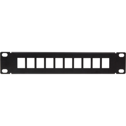 "LogiLink 10"" Keystone Patch Panel, schwarz"