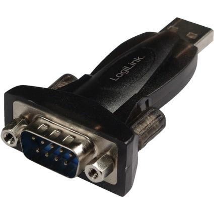 LogiLink USB 2.0 - RS232 Adapter mit Verlängerungskabel