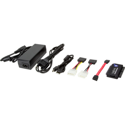 LogiLink USB 2.0 - SATA und IDE Adapterkabel, Länge: 1,2 m