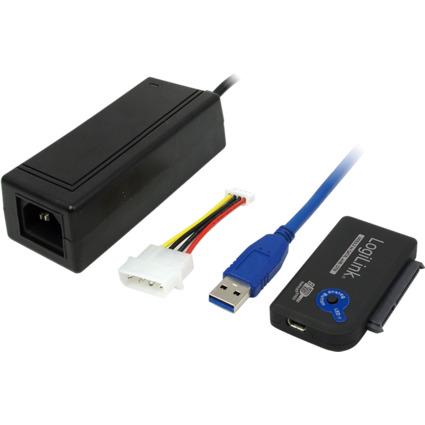 LogiLink USB 3.0 - SATA Adapter mit OTB-Funktion