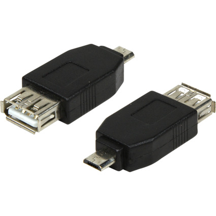 LogiLink USB 2.0 Adapter, Micro USB Stecker - USB Kupplung
