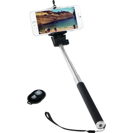 LogiLink Bluetooth Selfie Stange, mit Fernbedienung