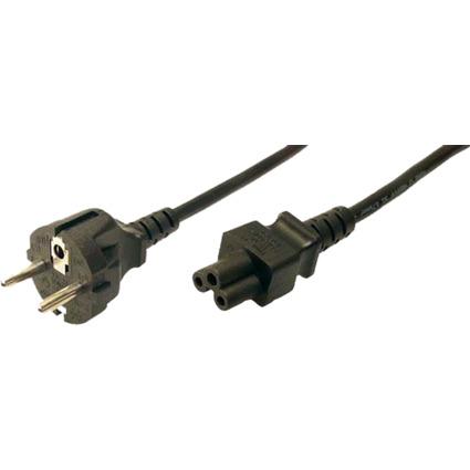LogiLink Notebook Stromkabel, schwarz, 1,8 m