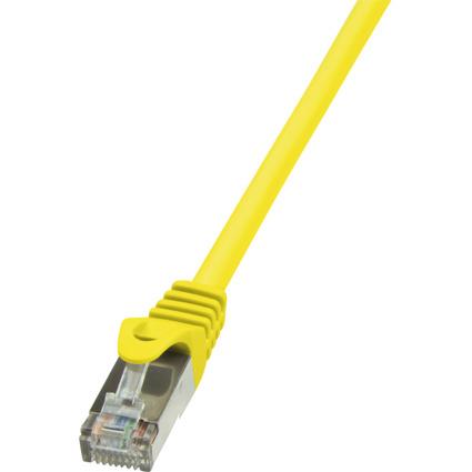 LogiLink Patchkabel, Kat. 6, F/UTP, 3,0 m, gelb