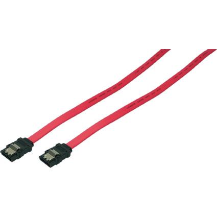 LogiLink Serial ATA Anschlusskabel, 0,75 m, rot