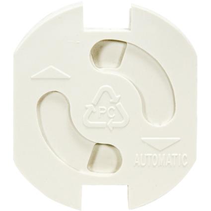 LogiLink Steckdosenschutz, Farbe: weiß, 5er Set
