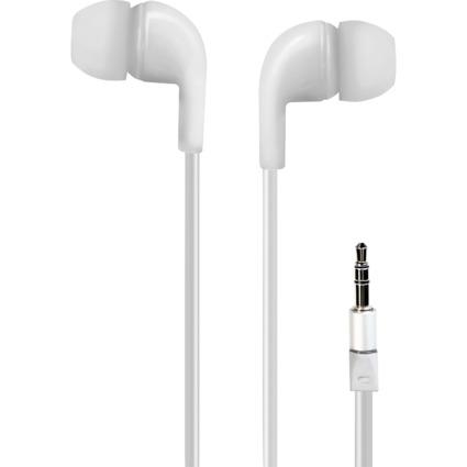 LogiLink In-Ear Kopfhörer, weiß