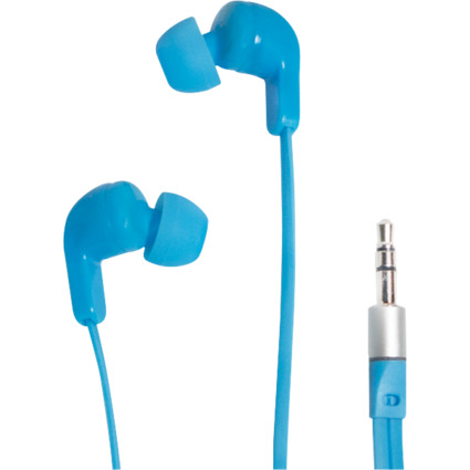 LogiLink In-Ear Kopfhörer, blau