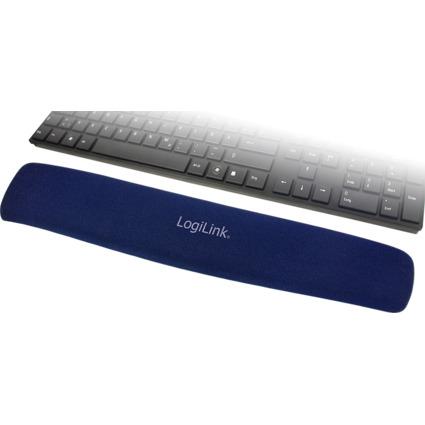 LogiLink Tastatur-Handgelenkauflage Gel, blau