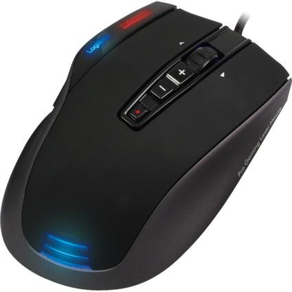 LogiLink Laser Gaming Maus Q1 Revolution, kabelgebunden