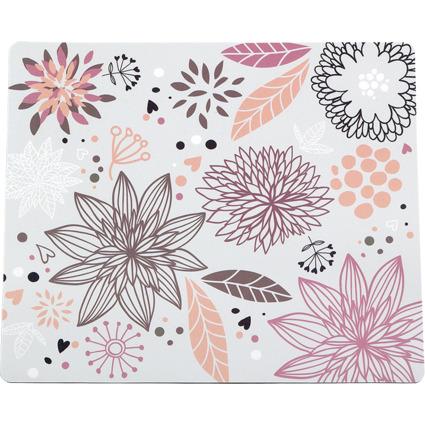 """LogiLink Maus Pad """"Flower Field"""", Maße: (B)230 x (T)195 mm"""