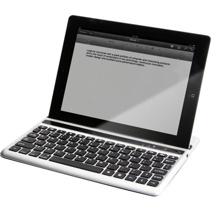 LogiLink Bluetooth Tastatur, für iPad, schwarz