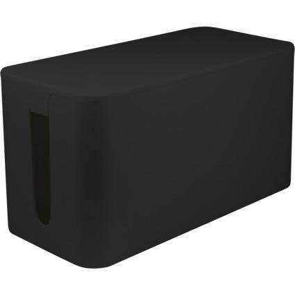 "LogiLink Kabelbox ""small size"", Farbe: schwarz"