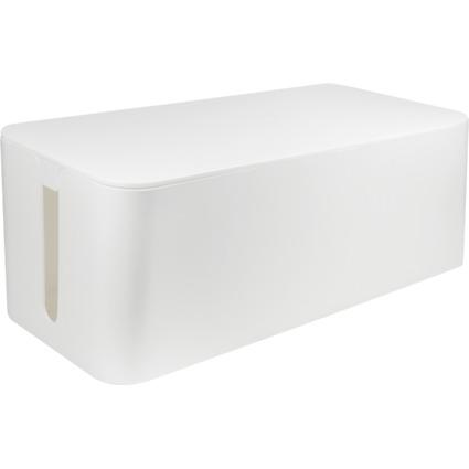 "LogiLink Kabelbox ""big size"", Farbe: weiß"
