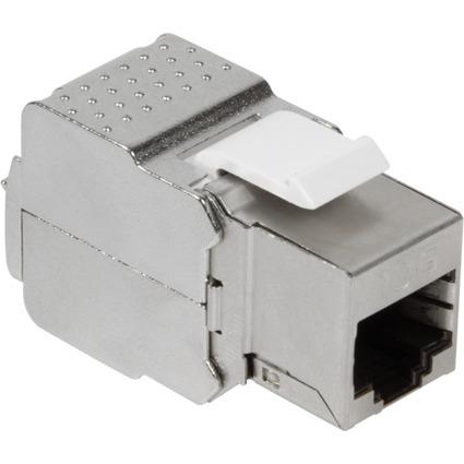 LogiLink Keystone Modul PrimeLine Kat.6A, geschirmt, grau