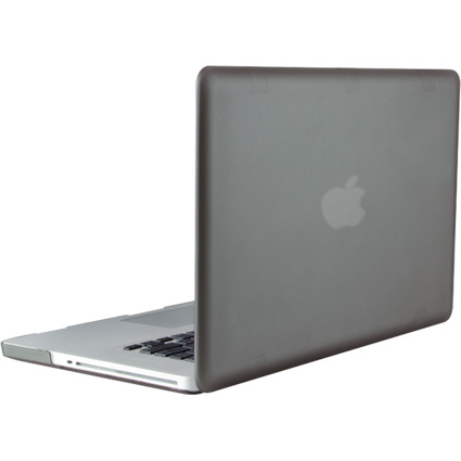 """LogiLink Schutzhülle für 15"""" MacBook Pro, stahlgrau"""