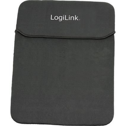 LogiLink Notebook-Hülle, Nylon, schwarz, für 39,12 cm