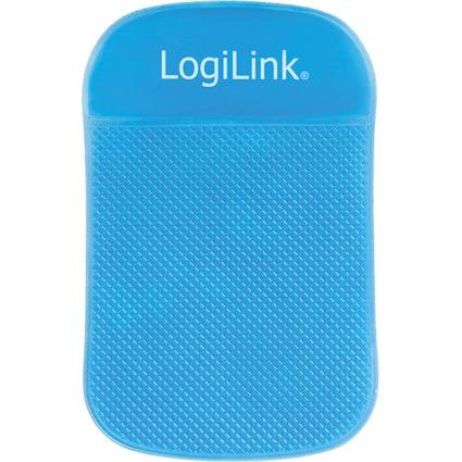LogiLink KFZ-Antirutschmatte für Smartphones, blau