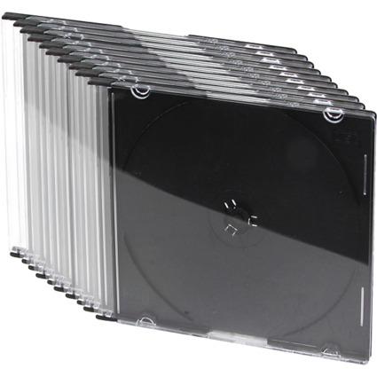 LogiLink CD-Leerhülle, Slim Case, für 1 CD/DVD