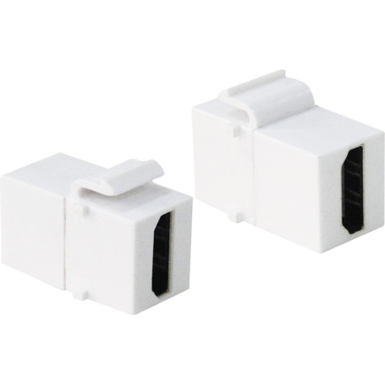 LogiLink Keystone Verbinder HDMI, weiß