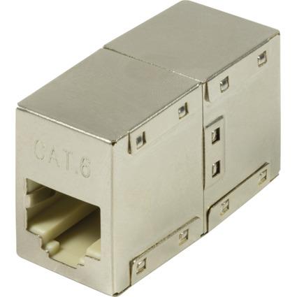 LogiLink Patchkabel-Verbinder Kat. 6, geschirmt