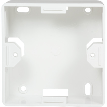 LogiLink Aufputzgehäuse für Unterputzdosen, reinweiß