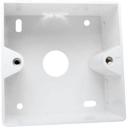LogiLink Aufputzgehäuse für Unterputzdosen, signalweiß