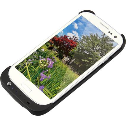 LogiLink Smartphone-Schutzcover mit Zusatzakku, Galaxy S3