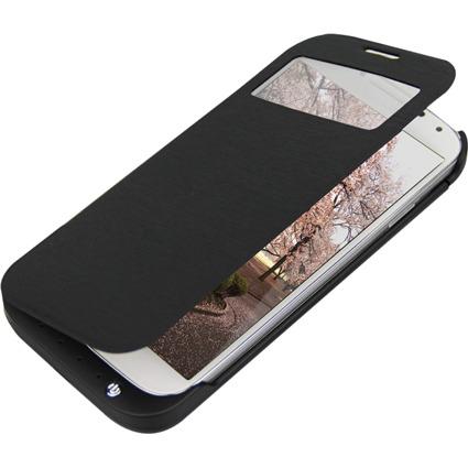 LogiLink Smartphone-Schutzcover mit Zusatzakku, Galaxy S4