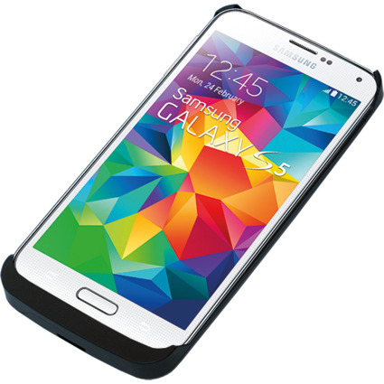 LogiLink Smartphone-Schutzcover mit Zusatzakku, Galaxy S5