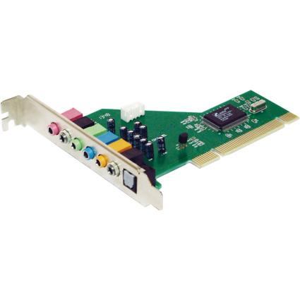 LogiLink PCI Soundkarte mit 7.1-Kanal, Chipsatz: CMI8768+