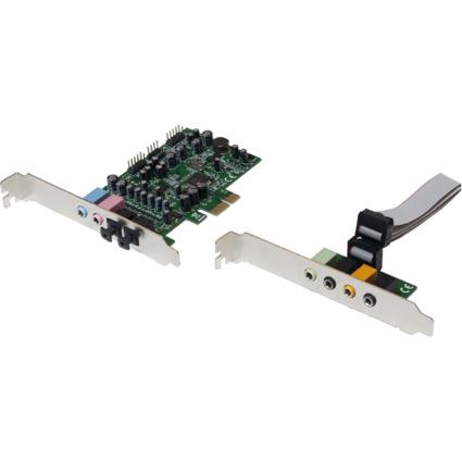LogiLink PCI Soundkarte mit 7.1-Kanal, mit Tochterkarte