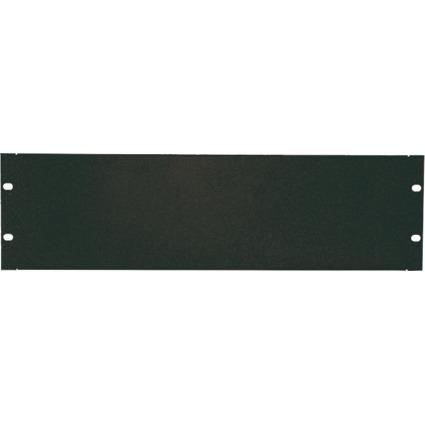 """LogiLink 19"""" Blindplatte, 4 HE, schwarz (RAL9005)"""