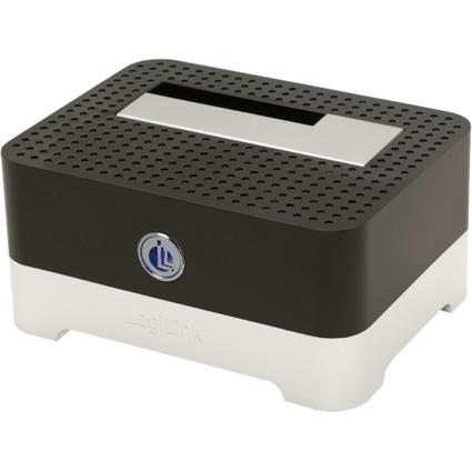 "LogiLink USB 3.0 Festplatten Docking Station, 2,5""/3,5"" SATA"