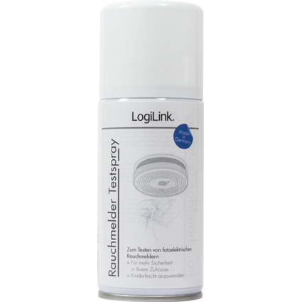 LogiLink Rauchmelder-Testspray, 150 ml