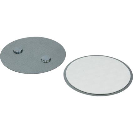 LogiLink Universal Magnethalterung für Rauchmelder, 70 mm