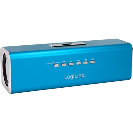 "LogiLink portabler Lautsprecher ""Disco Lady Soundbox"""
