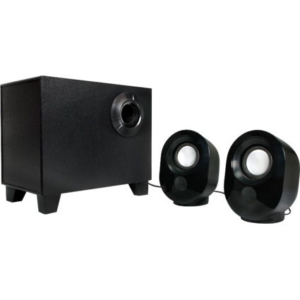 LogiLink 2.1 Lautsprecher-System, 9 Watt