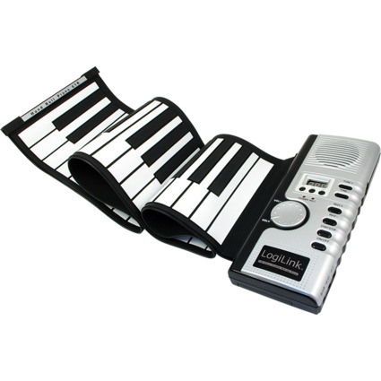 LogiLink USB Keyboard, aufrollbar
