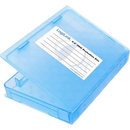 """LogiLink HDD-Box für 2,5"""" Festplatten, blau"""